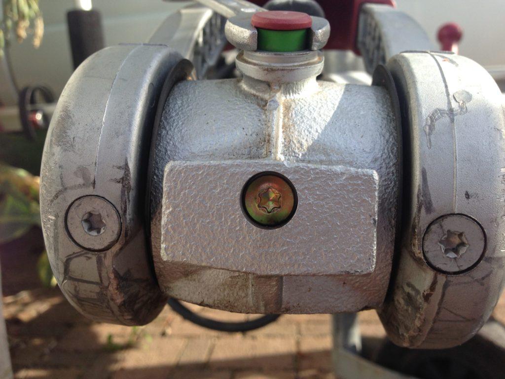Reibbeläge wechseln Antischlingerkupplung ALKO 2004/3004 4