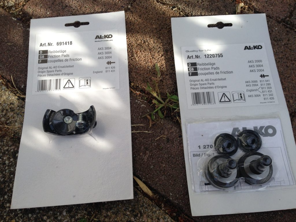 Reibbeläge wechseln Antischlingerkupplung ALKO 2004/3004 2
