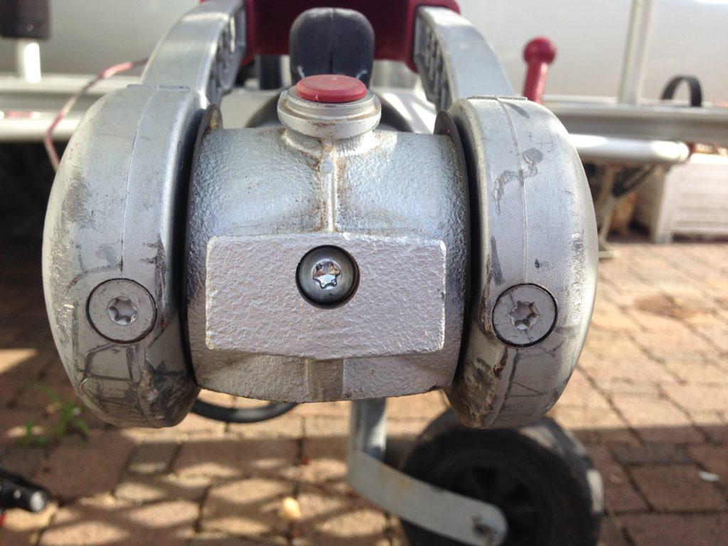 Reibbeläge wechseln Antischlingerkupplung ALKO 2004/3004 6