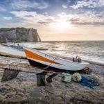 Bilder aus Etretat - Der wohl bekannteste Teil der französischen Kreideküste 7