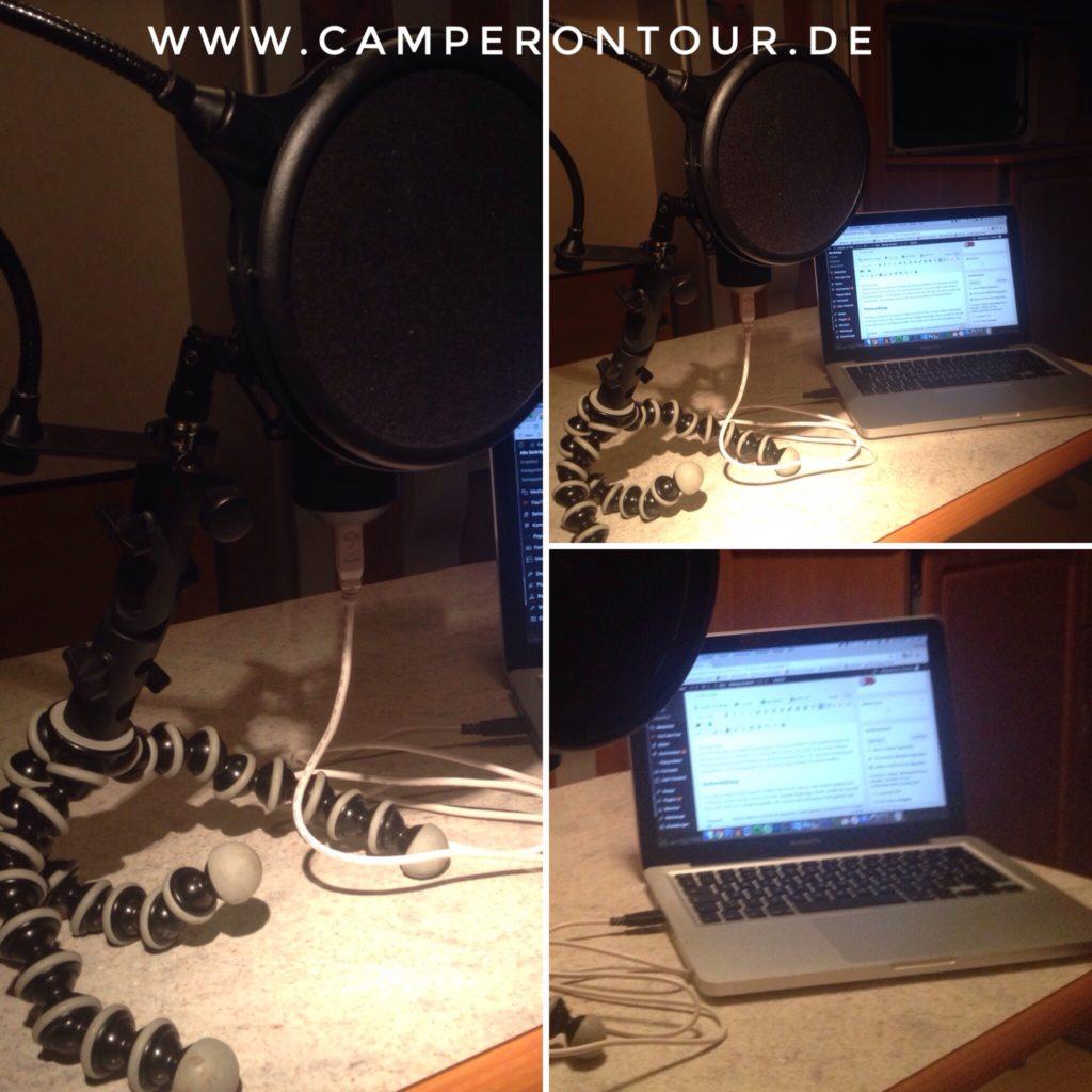 032 - Wochenrückblick - scrubba Wash Bag, Podcasten im WoWa, Camper on Tour Fahne und Magnettafel 2
