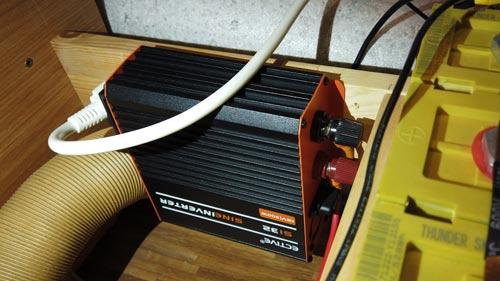 Wechselrichter! So kommt man von 12V auf 230V 2