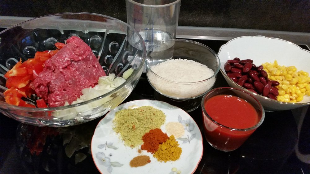 Chili con carne aus dem Omnia 2