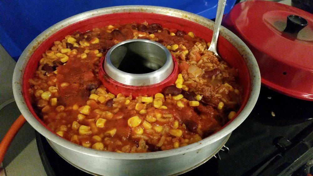 Chili con carne aus dem Omnia 10