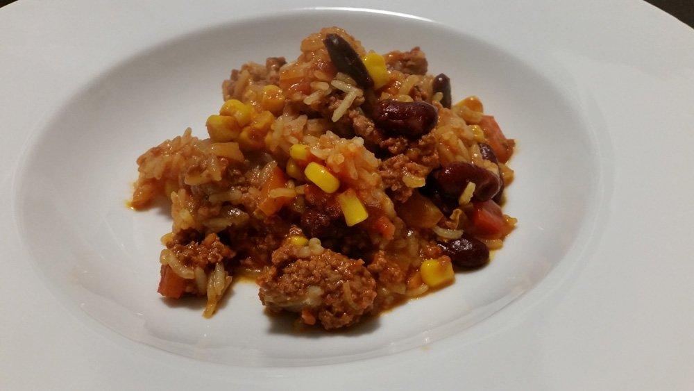Chili con carne aus dem Omnia 12