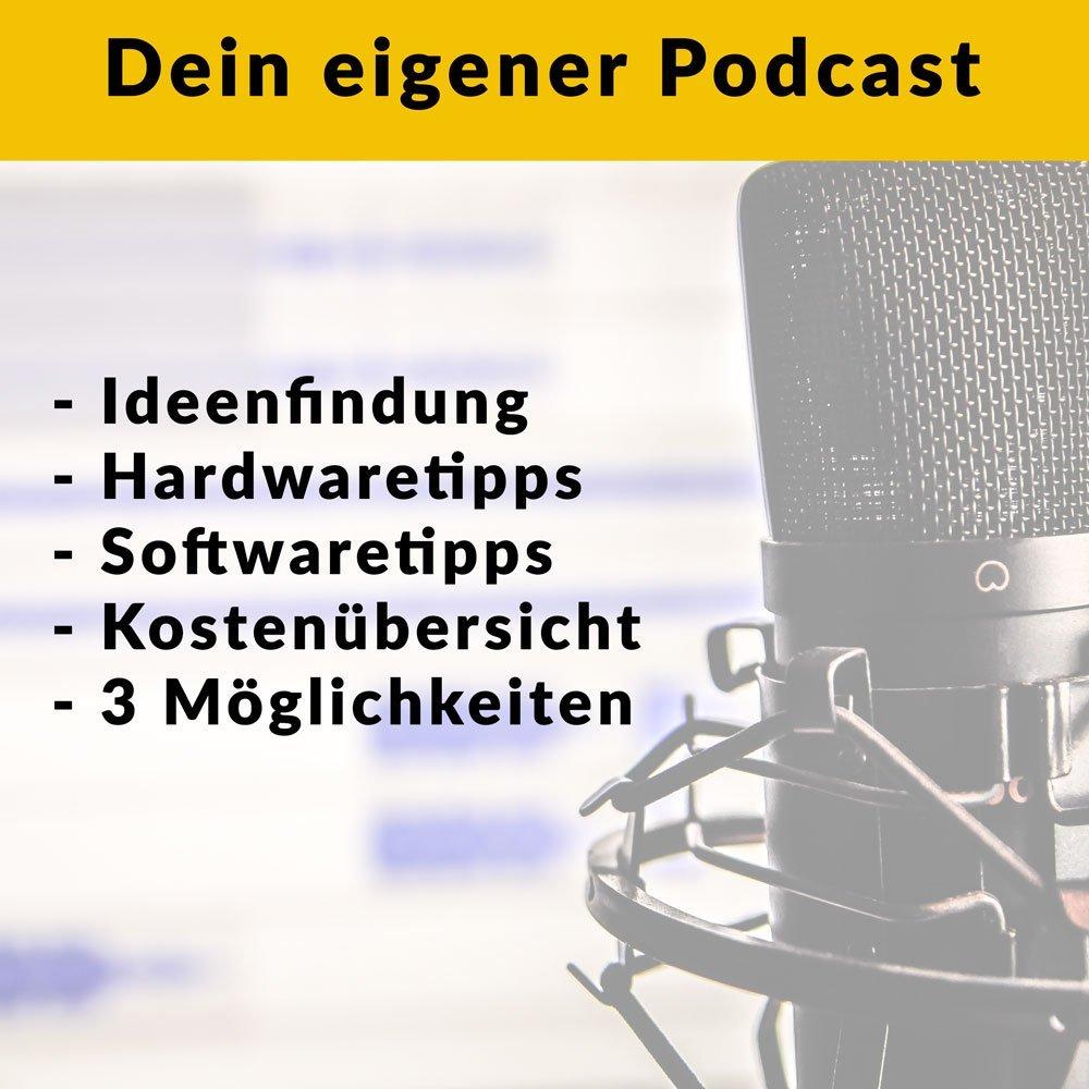 Mach deinen eigenen Podcast 2