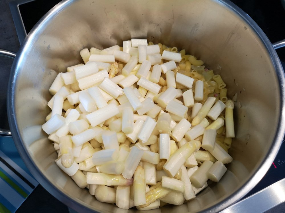 Nudel - Spargel - One Pot 2