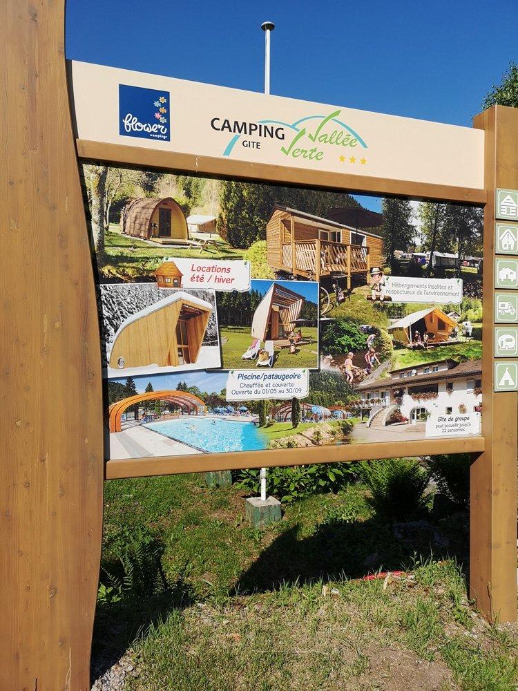 Camping in den Vogesen 2