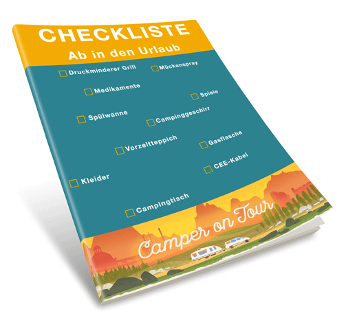 CamperonTour Checkliste - Ab in den Urlaub