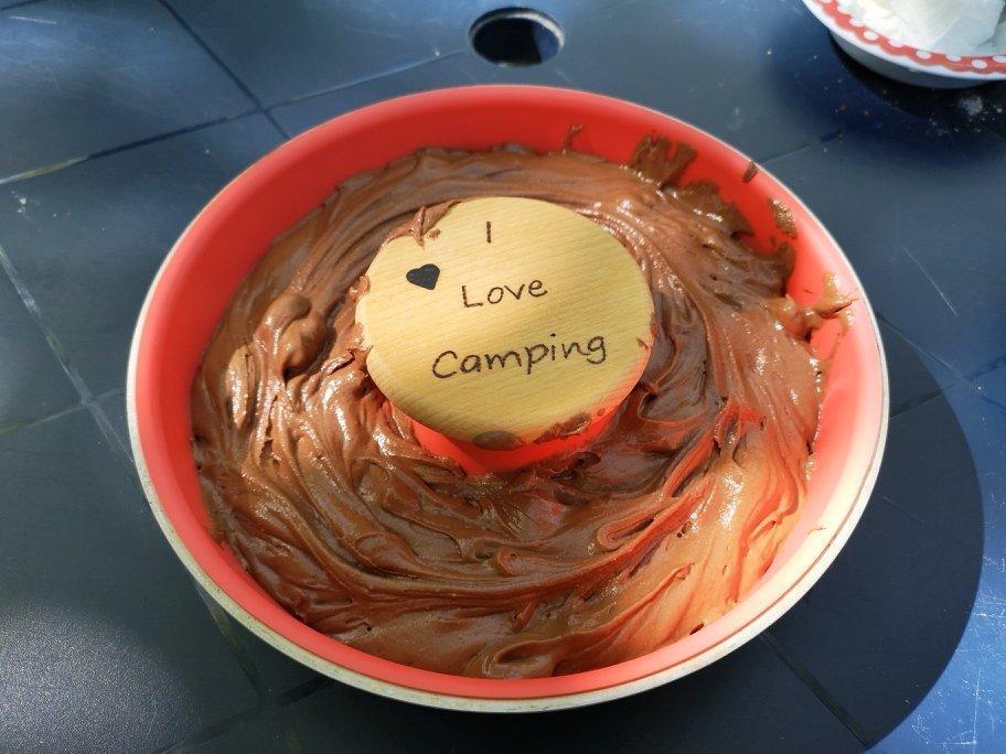 Schokoladenkuchen aus dem Omnia 2