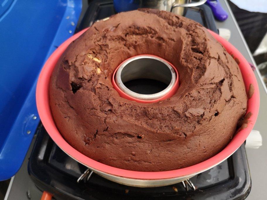 Schokoladenkuchen aus dem Omnia 8