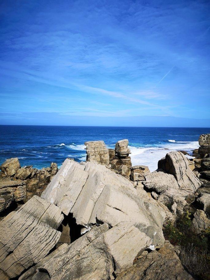 Felsen und Meer Portugals Westküste - Peniche - Nazaré - Santa Cruz  + Campingplatz für unter 10 Euro 2