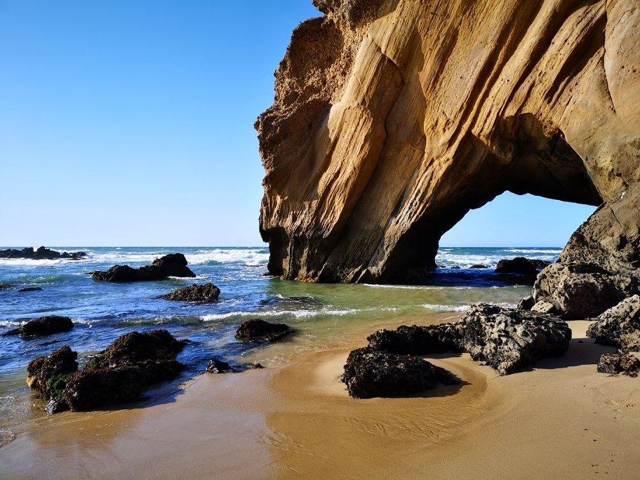 Felsen und Meer Portugals Westküste - Peniche - Nazaré - Santa Cruz  + Campingplatz für unter 10 Euro 6