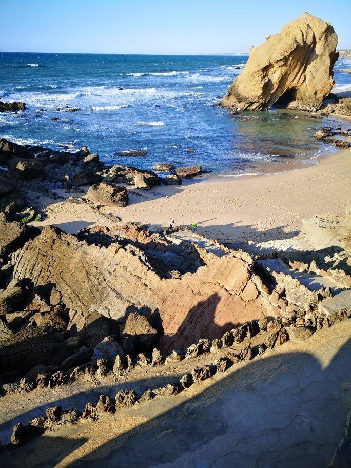 Felsen und Meer Portugals Westküste - Peniche - Nazaré - Santa Cruz  + Campingplatz für unter 10 Euro 8