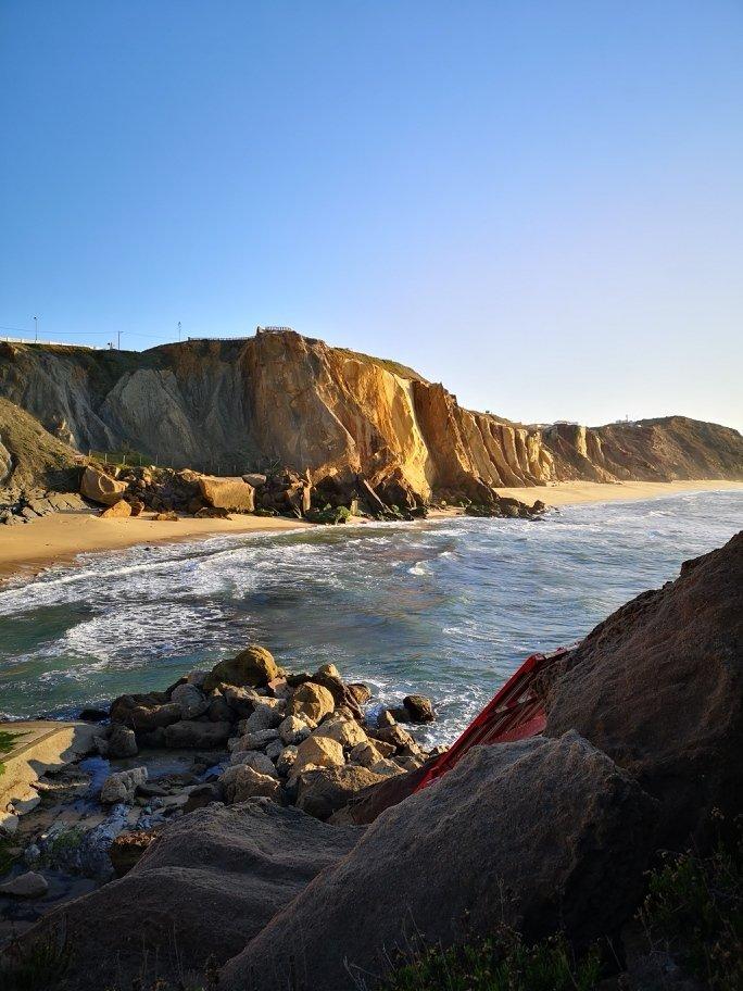 Felsen und Meer Portugals Westküste - Peniche - Nazaré - Santa Cruz  + Campingplatz für unter 10 Euro 10