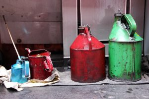 Ölkannen für Beitrag das richtige Fett Kurbelstützen
